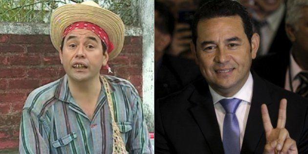 Comediante evangélico Jimmy Morales é o novo presidente da