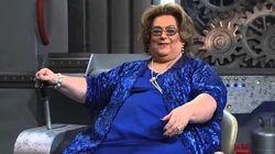 Irreconhecível, Mamma Bruschetta aparece 42 kg mais