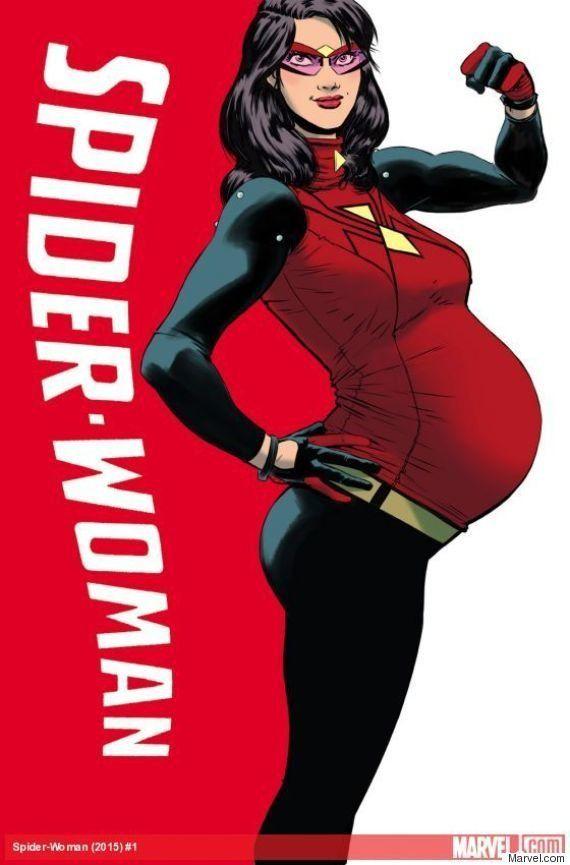 Marvel: Mulher-Aranha está grávida de 8 meses em novo