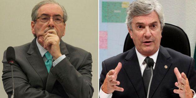Eduardo Cunha e Fernando Collor estão na mira da Procuradoria-Geral da República por suposto envolvimento...