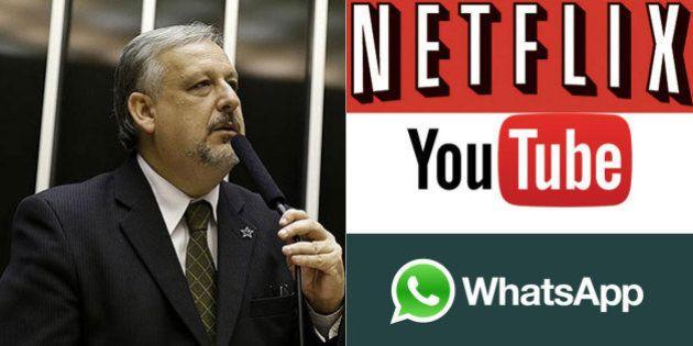 Ministro das Comunicações defende teles e pede regulamentação para Netflix, WhatsApp e