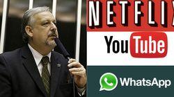 Netflix, WhatsApp e YouTube ajudam a 'tirar empregos no Brasil', diz ministro de