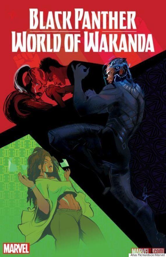 Marvel anuncia quatro artistas negras para trabalhar em novo quadrinho do Pantera
