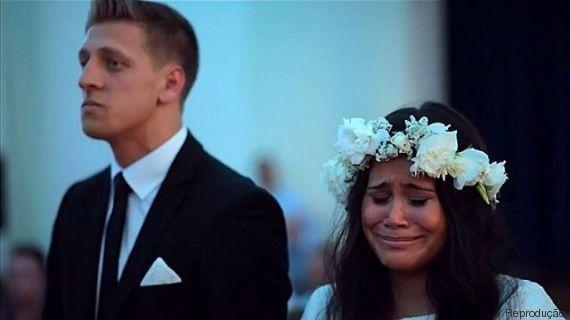 Haka-supresa! Noiva se emociona com presente inusitado no casamento