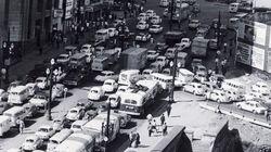 Esta é São Paulo congestionada... na década de 70