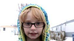 Mais de 4 milhões de pessoas se juntaram esta menininha para combater o