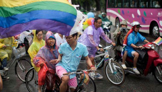 O Vietnã já foi elogiado como líder em direitos LGBT. Os ativistas não