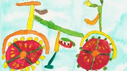 Artistas com deficiência de desenvolvimento tratam alimentos como obras de
