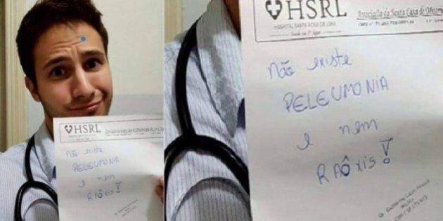 'Não existe peleumonia': Médico debocha de paciente, recebe críticas e acaba