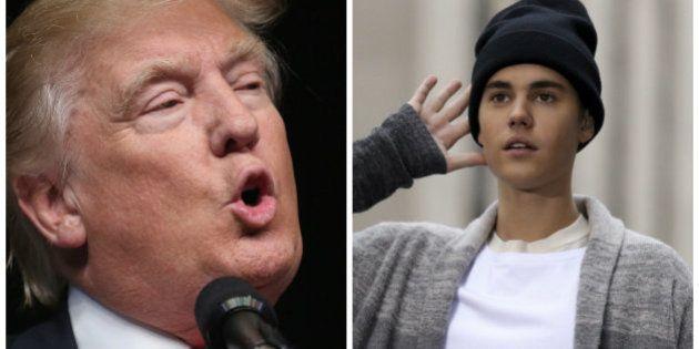 Justin Bieber recusa cachê milionário para tocar em campanha de Donald