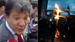 Após 'garrafada', MPL convida Haddad e Alckmin para conversa sobre transporte em