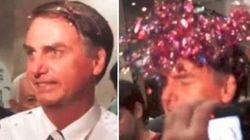 Brilha, Bolsonaro! Manifestantes fazem 'purpurinaço' no maior transfóbico do