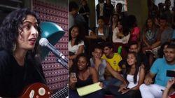 Um apoio INSPIRADOR! Marisa Monte canta com alunos em escola ocupada no