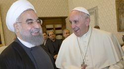 Papa pede ao Irã que trabalhe pela paz no Oriente Médio e combata o