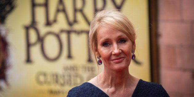 LONDON, ENGLAND - JULY 30: J. K. Rowling attends the press preview of 'Harry Potter & The Cursed Child'...