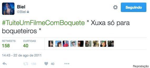 O passado misógino, racista e homofóbico de Biel no Twitter é