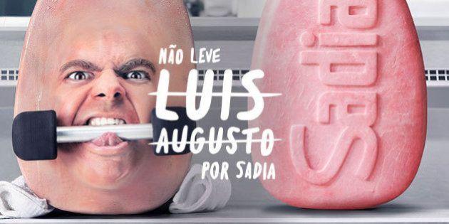 Propaganda da Sadia com presunto 'Luis Augusto' é alvo do Conar e de processos de