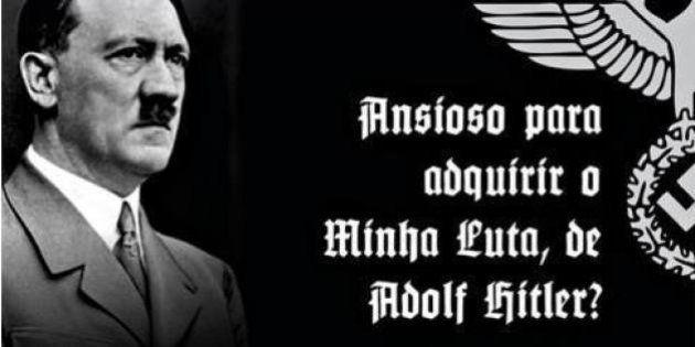 Propaganda de 'Minha Luta', livro de Adolf Hitler, reacende o debate no