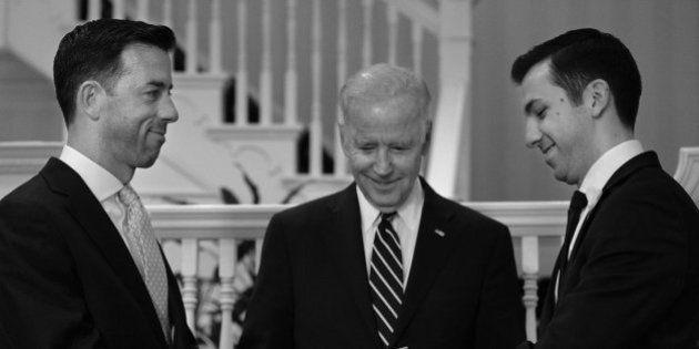 'Orgulhoso em casar Brian e Joe'. Vice-presidente dos EUA celebra casamento de servidores da Casa Branca