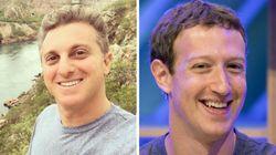 Migos de Face: Zuckerberg responde Luciano Huck após bloqueio do
