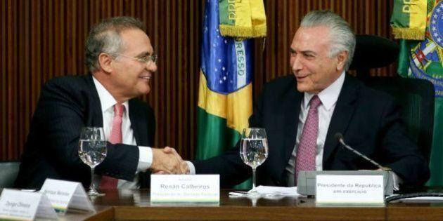 Temer pressiona e Renan antecipa votação do impeachment para dia