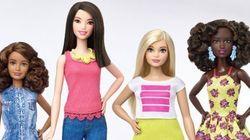 Representatividade é tudo! Barbie agora terá três formas de corpo e vários tons de