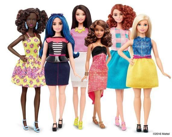 A novas bonecas Barbie são uma homenagem às meninas do