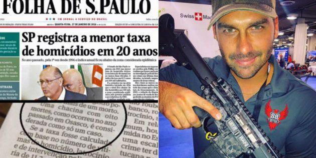 Deputado Eduardo Bolsonaro questiona 'método Alckmin' para taxa de homicídios: 'Iludiu o