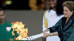 A Olimpíada: O revezamento da tocha que já uniu o