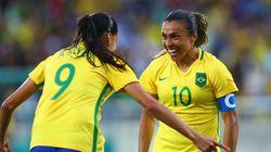 Um AMOR SÓ: Meninas da Seleção começam com o pé