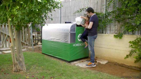 Esta máquina converte alimentos desperdiçados em gás de