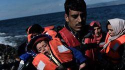 Cinco crianças refugiadas morrem afogadas na ilha de