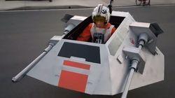 ASSISTA: Pai transforma cadeira de rodas do filho em nave de 'Star
