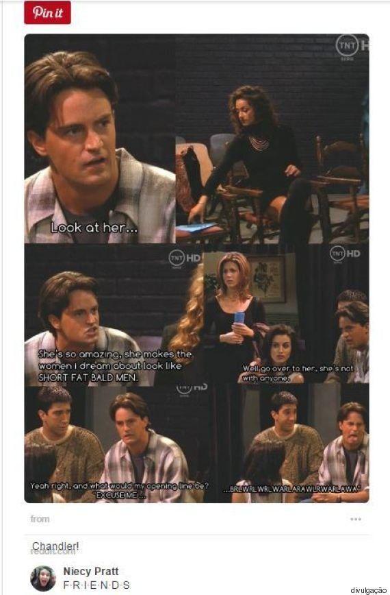 31 sinais de que você é o Chandler Bing de seu grupo de