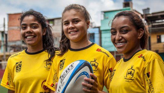 Paraisópolis é o verdadeiro paraíso do rugby feminino. E você nem