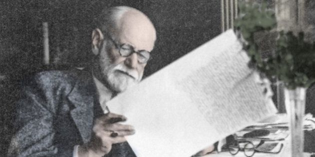 Sigmund Freud (1856-1939), Austrian psychologist. Freud theorized that mental illness could have psychological...