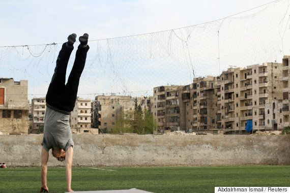 Prejudicados pela guerra, atletas da Síria sonham com glória