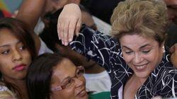 Dilma pode descer rampa do Planalto ao lado de movimentos