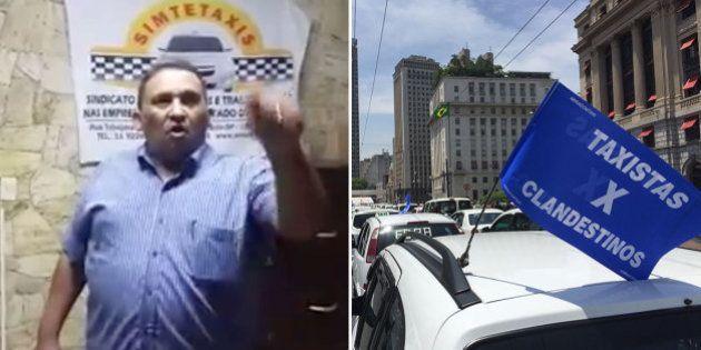 Presidente de sindicato de taxistas de SP é investigado após ataques e ameaças a motoristas do