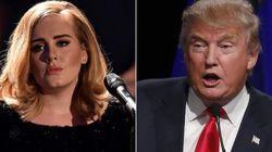 Deu ruim! Adele diz que não autorizou Trump a usar suas músicas em