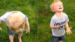 ASSISTA: Menino pisa em cocô de cachorro e