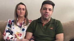 Chorando, Feliciano nega acusação de Patrícia Lélis: 'Uma grande