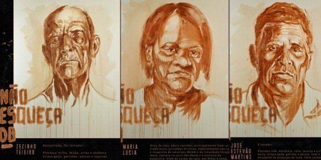 'A arte nunca esquece': Projeto faz homenagem às vítimas de
