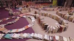ASSISTA: Este é o MAIOR efeito dominó de livros já