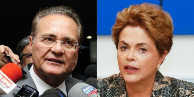 URGENTE: Renan mantém impeachment de Dilma e descarta 'brincadeira com