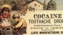 Cocaína e heroína vendidas como remédio? Veja outros anúncios