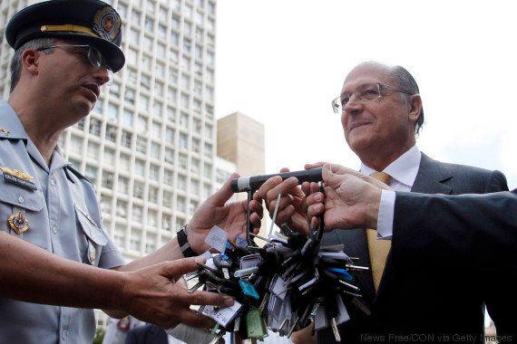 Governo Geraldo Alckmin põe boletins policiais incompletos em Portal da
