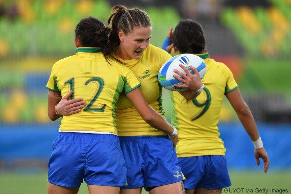 Dia histórico! Rúgbi feminino dá ao Brasil primeira vitória da modalidade em