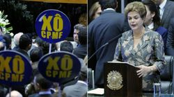 No Congresso, Dilma defende CPMF e recebe vaias dos