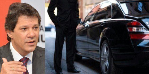 Com decreto, Haddad libera Uber em São